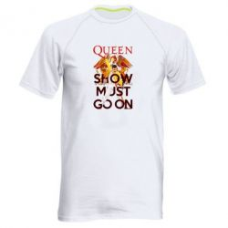 Чоловіча спортивна футболка Show must go on