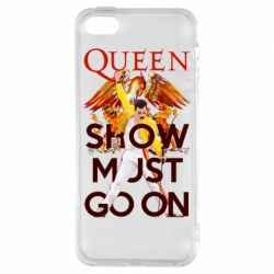 Чохол для iphone 5/5S/SE Show must go on