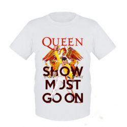 Дитяча футболка Show must go on
