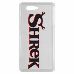 Чехол для Sony Xperia Z3 mini Shrek - FatLine