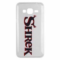 Чехол для Samsung J3 2016 Shrek