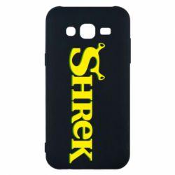 Чехол для Samsung J5 2015 Shrek