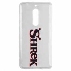 Чехол для Nokia 5 Shrek - FatLine