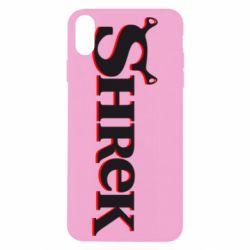 Чехол для iPhone Xs Max Shrek