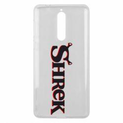 Чехол для Nokia 8 Shrek - FatLine