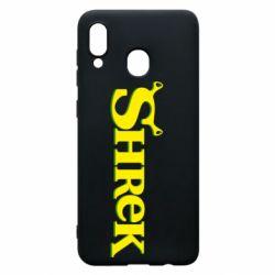 Чехол для Samsung A20 Shrek