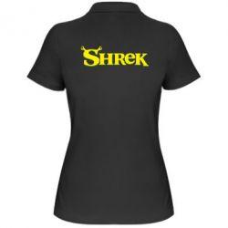 Женская футболка поло Shrek - FatLine