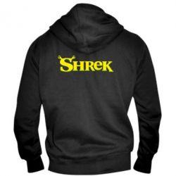 Мужская толстовка на молнии Shrek - FatLine