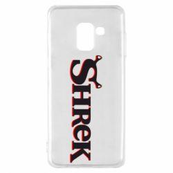 Чехол для Samsung A8 2018 Shrek