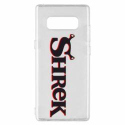 Чехол для Samsung Note 8 Shrek