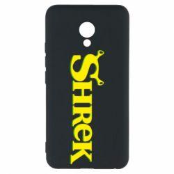 Чехол для Meizu M5 Shrek - FatLine