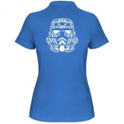 Женская футболка поло Штурмовик Арт - FatLine