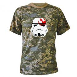 Камуфляжная футболка Штурмовик - FatLine