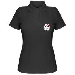 Женская футболка поло Штурмовик - FatLine