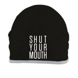 Шапка Shut your mouth