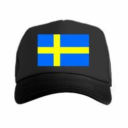 Кепка-тракер Швеция - FatLine