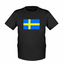 Детская футболка Швеция - FatLine