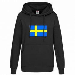 Женская толстовка Швеция - FatLine