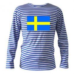 Тельняшка с длинным рукавом Швеция - FatLine