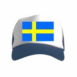 Дитяча кепка-тракер Швеція