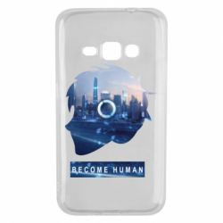 Чохол для Samsung J1 2016 Silhouette City Detroit: Become Human