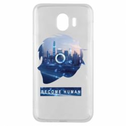 Чохол для Samsung J4 Silhouette City Detroit: Become Human