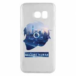 Чохол для Samsung S6 EDGE Silhouette City Detroit: Become Human