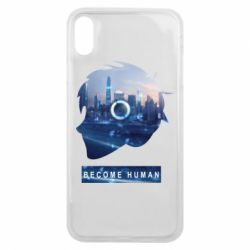 Чохол для iPhone Xs Max Silhouette City Detroit: Become Human