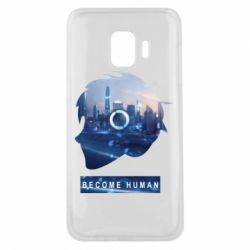 Чохол для Samsung J2 Core Silhouette City Detroit: Become Human