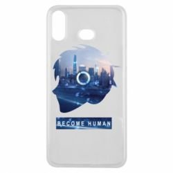 Чохол для Samsung A6s Silhouette City Detroit: Become Human