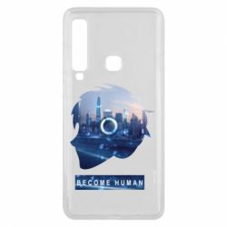 Чохол для Samsung A9 2018 Silhouette City Detroit: Become Human