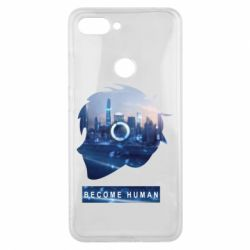 Чохол для Xiaomi Mi8 Lite Silhouette City Detroit: Become Human