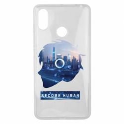 Чохол для Xiaomi Mi Max 3 Silhouette City Detroit: Become Human