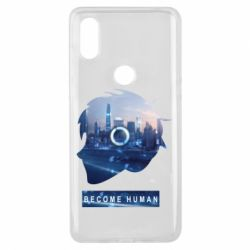 Чохол для Xiaomi Mi Mix 3 Silhouette City Detroit: Become Human