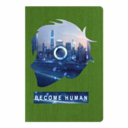 Блокнот А5 Silhouette City Detroit: Become Human