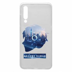 Чохол для Xiaomi Mi9 Silhouette City Detroit: Become Human