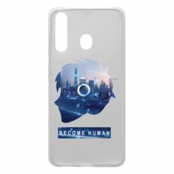 Чохол для Samsung A60 Silhouette City Detroit: Become Human