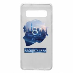 Чохол для Samsung S10 Silhouette City Detroit: Become Human