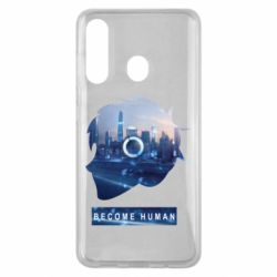 Чохол для Samsung M40 Silhouette City Detroit: Become Human