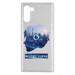 Чохол для Samsung Note 10 Silhouette City Detroit: Become Human
