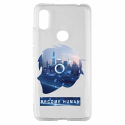 Чохол для Xiaomi Redmi S2 Silhouette City Detroit: Become Human