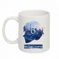 Кружка 320ml Silhouette City Detroit: Become Human