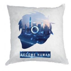Подушка Silhouette City Detroit: Become Human