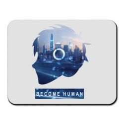 Килимок для миші Silhouette City Detroit: Become Human