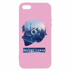 Чохол для iphone 5/5S/SE Silhouette City Detroit: Become Human