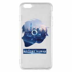 Чохол для iPhone 6 Plus/6S Plus Silhouette City Detroit: Become Human
