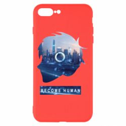 Чохол для iPhone 8 Plus Silhouette City Detroit: Become Human