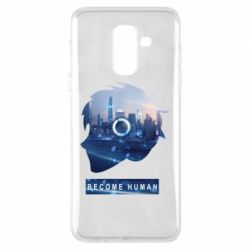 Чохол для Samsung A6+ 2018 Silhouette City Detroit: Become Human