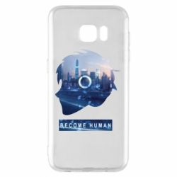 Чохол для Samsung S7 EDGE Silhouette City Detroit: Become Human