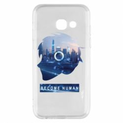 Чохол для Samsung A3 2017 Silhouette City Detroit: Become Human
